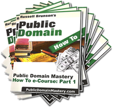 Public Domain How To e-Course
