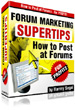 Forum Marketing Supertips